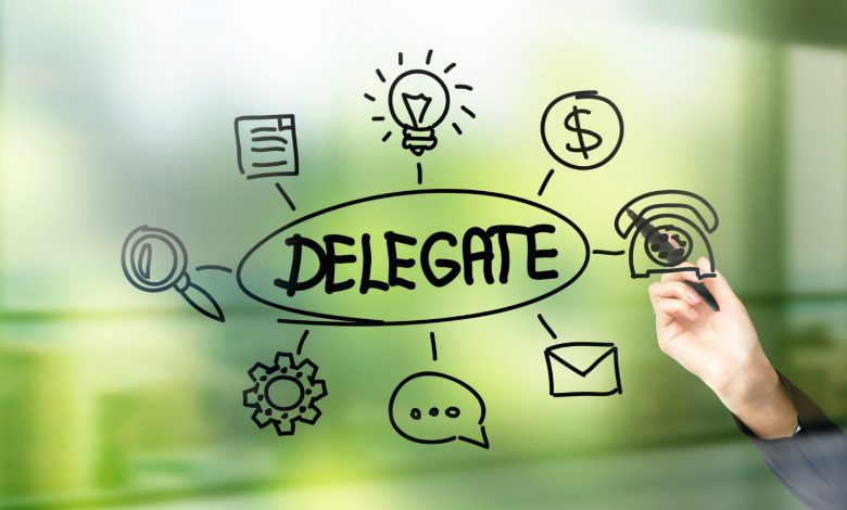 How to delegate in business