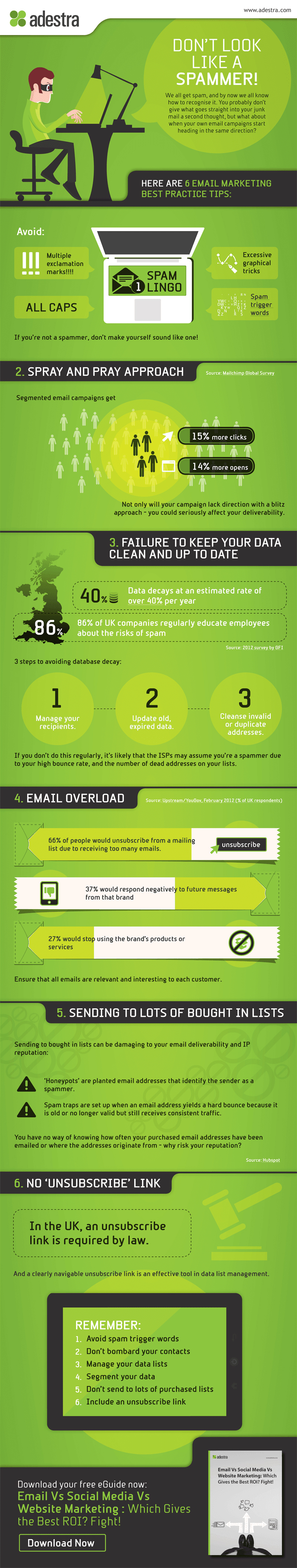 Infographic: 6 Email Marketing Best Practices