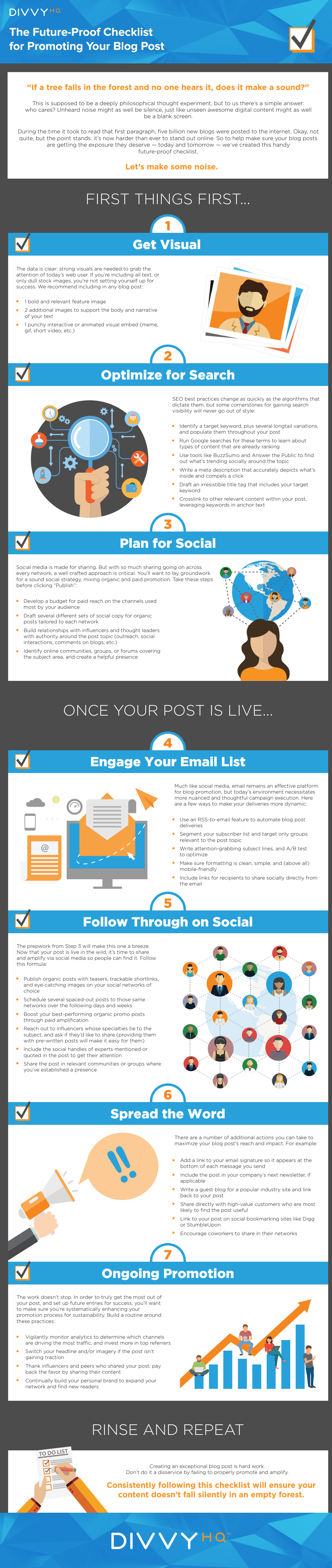 Infographic: The No-Fail, Go-To Checklist For Promoting Your Content